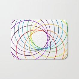 Spiranbow Graph Bath Mat