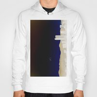 denver Hoodies featuring Denver Flyby by Augustina Trejo