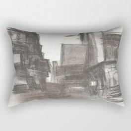 #1 Three Light Plaza Rectangular Pillow