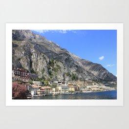 Limone Italy Art Print