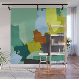 Palette for young people Wall Mural