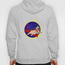 Funny Space Pug Dog Lover Gift Hoody