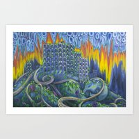Cosmic Slop Art Print