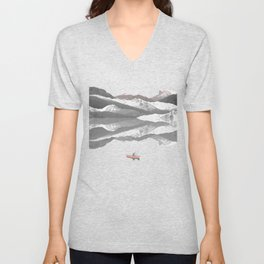 No River Wide Enough Unisex V-Neck