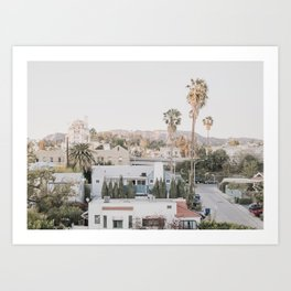 Hollywood California Art Print