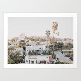 Hollywood California Art Print