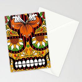 Sugar Skull #5 Stationery Cards