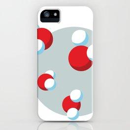 Water Molecules iPhone Case