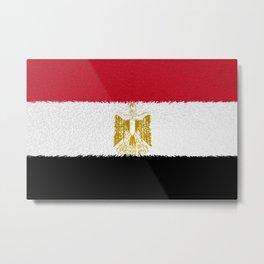 Flag of Egypt - Extruded Metal Print