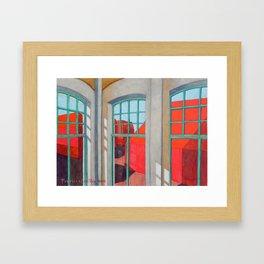 Abandoned room VIII Framed Art Print