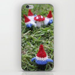Meeting of the Gnomes iPhone Skin