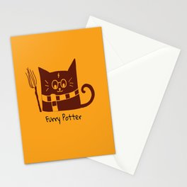 Furry Potter  Stationery Cards