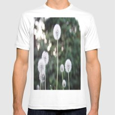 Dandelions Mens Fitted Tee MEDIUM White