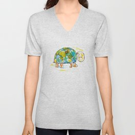 Turtle Unisex V-Neck