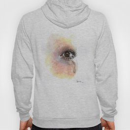Watercolour Eye Painting  Hoody