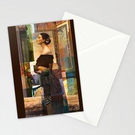 Evening in Montmarte Quarter Stationery Cards