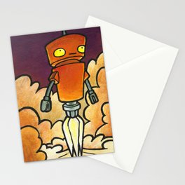 Robot - Launch Stationery Cards