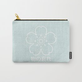 mono no aware – green Carry-All Pouch