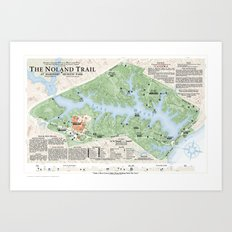 The Noland Trail Art Print