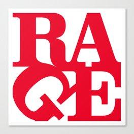 rage against the machine logo 2020 Canvas Print