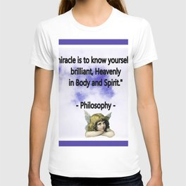 To Know Yourself T-shirt