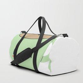 Coffee Cup Is Cute Duffle Bag