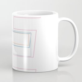 Intertwined Strength and Elegance of the Letter E Coffee Mug