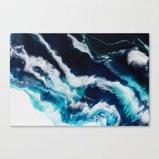 Crashing Abstract Painting Canvas Print