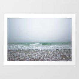Foggy Florida Art Print
