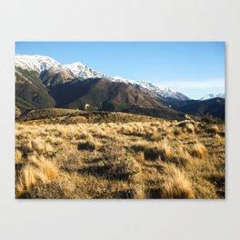 South Alps-New Zealand Canvas Print