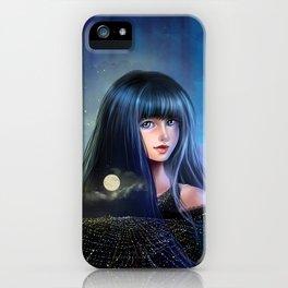 Lady Night iPhone Case