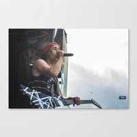 pierce the veil Canvas Prints featuring Pierce The Veil by Ashton Garner