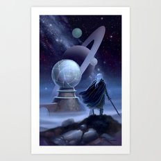 The Temple at the End of Time Art Print