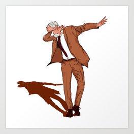 Jeremy Corbyn Labour 2017 DAB ON Dance Art Print
