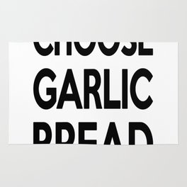 Choose Garlic Bread Rug