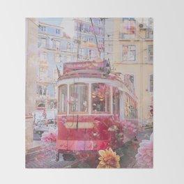 Floral Lisbon Throw Blanket