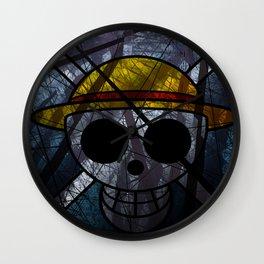 """One Piece """"Mugiwara Kaizoku"""" Wall Clock"""
