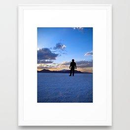 Alienscape Framed Art Print