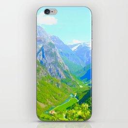 Norwegian Valley iPhone Skin