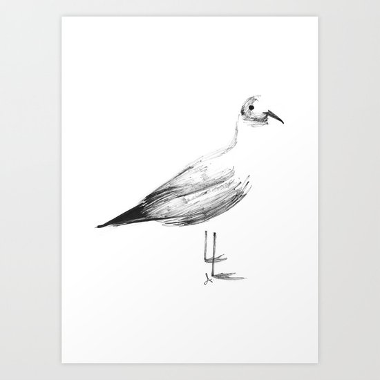 Gaviota Art Print