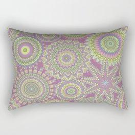 Kaleidoscopic-Fairytale colorway Rectangular Pillow