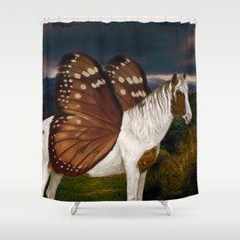 Fae Horse (Fairy) Shower Curtain