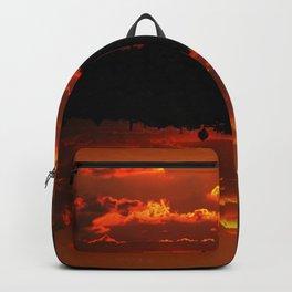 Amber Coucher Du Soleil Backpack
