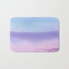 Bisexual Watercolor Wash Bath Mat