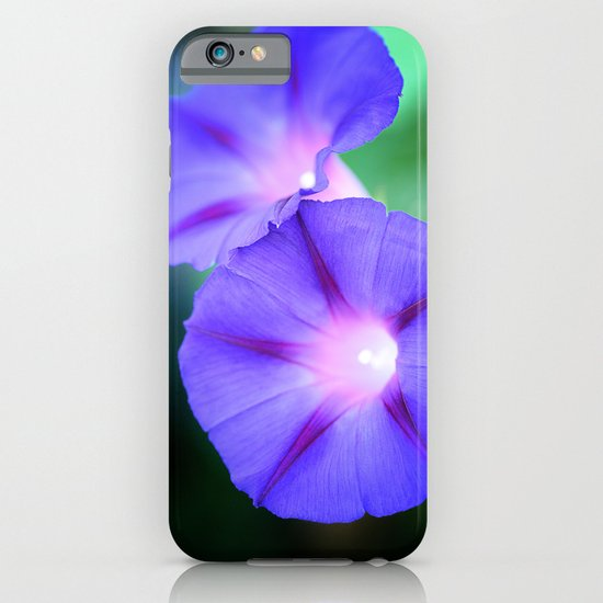 Morning glories iPhone & iPod Case