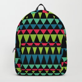 Neon Southwestern Pattern Backpack