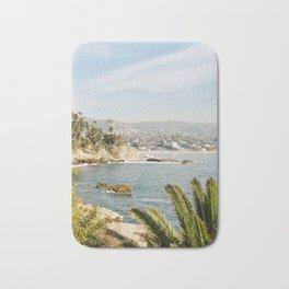 Laguna Beach Print  Bath Mat