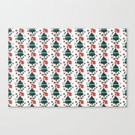 Christmas 2020 Pattern Art Canvas Print