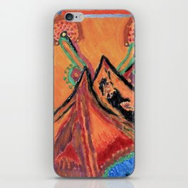 """"""" the mountain """" iPhone Skin"""