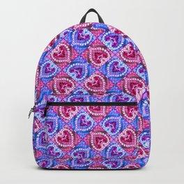 Harlequin Hearts Backpack